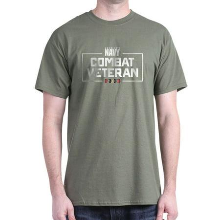 1f81c3435 CafePress - US Navy Combat Veteran - 100% Cotton T-Shirt - Walmart.com