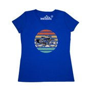 Cycling Vintage Bicycle for Cyclist Women's V-Neck T-Shirt