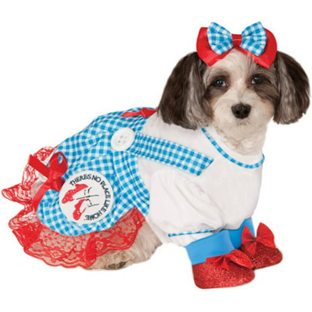 The Wizard of Oz Dorothy Dog Costume - Small - Dog Wizard Of Oz Costumes