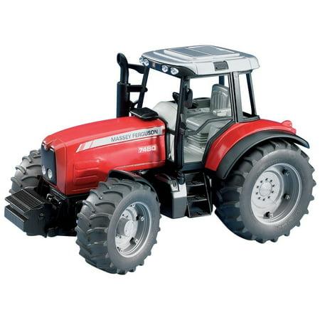 Massey Ferguson Backhoe - Massey Ferguson 7480 Red Tractor - Vehicle Toy by Bruder Trucks (02040)