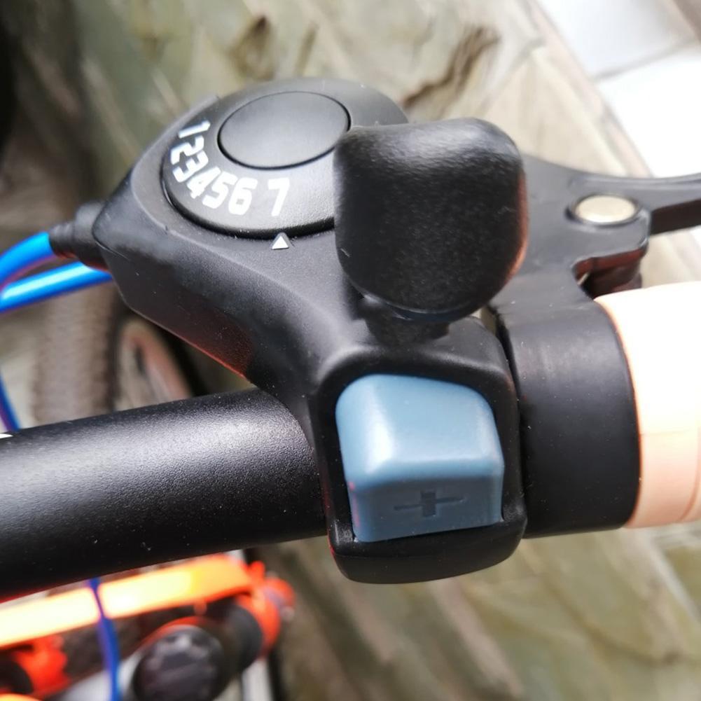 1 par Vbestlife Bicicleta Speed Shifter Bicicleta de monta/ña para Exteriores TX-30 Thumb Gear Shifters 3X7 Speed Shift Lever and Set