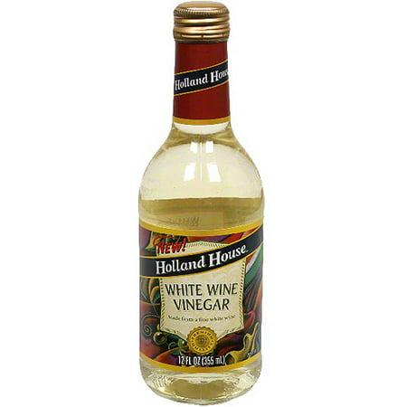 Holland House White Wine Vinegar, 12 oz (Pack of 6)