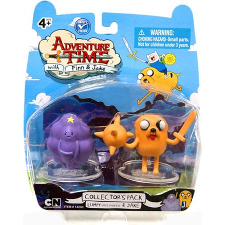 Adventure Time Collector's Pack Lumpy Space Princess & Jake Mini Figure 2-Pack (Lumpy Space Princess Halloween)