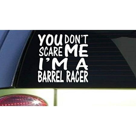 Barrel Racer Horse - You Don't Scare me Barrel Racer *I154* 6