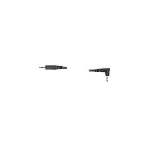 Hosa CMM-110R Cable 3.5mm TRS Stereo Mini To Stereo Mini Right Angle 10ft