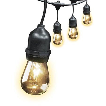 Feit Electric String Lights 12 Ft : Feit Electric Weatherproof 30 ft. Outdoor String Light Set with 11W Light Bulbs - Walmart.com