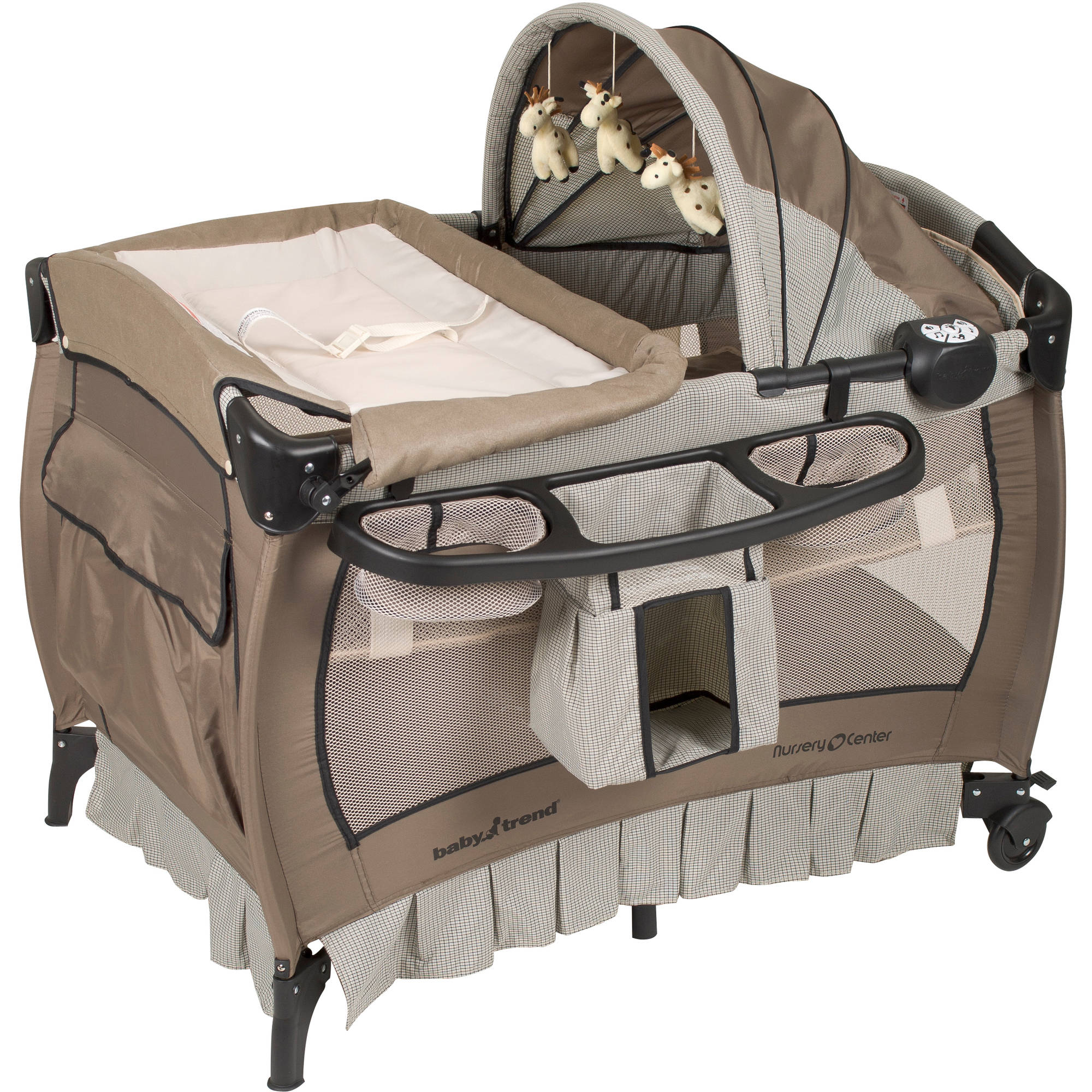 Baby Trend Nursery Center Play Pen, Deluxe Havenwood by Baby Trend