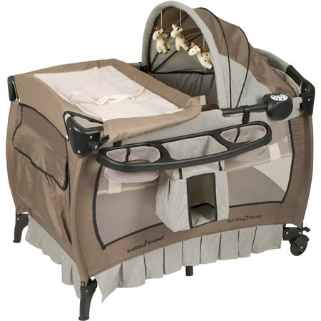 Baby Trend Deluxe II Nursery Center Playard, Havenwood