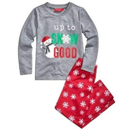 Family PJs Kids Snowflake Meltdown Pajama Set Size 14 - - Halloween Pjs