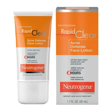 Neutrogena Rapid Clear Acne Defense Lotion - 1.7 Fl Oz (50 Ml), 2