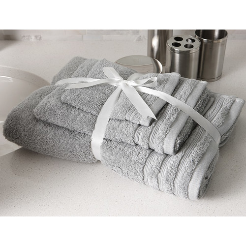 Flato Home Products Edged 3 Piece 100pct Cotton Towel Set