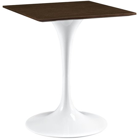 Walnut Veneer Mdf - Lippa Wood Dining Table-Color:Walnut,Material:1