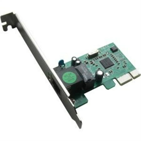 Hiro 10/100/1000 Internal PCI Express PCIe PCI-E 1X Gigabit Fast LAN Ethernet Card H50218 ()