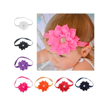 Directer directer cute lotus flower hair band elastic headband directer cute lotus flower hair band elastic headband toddler baby girls hair accessory mightylinksfo