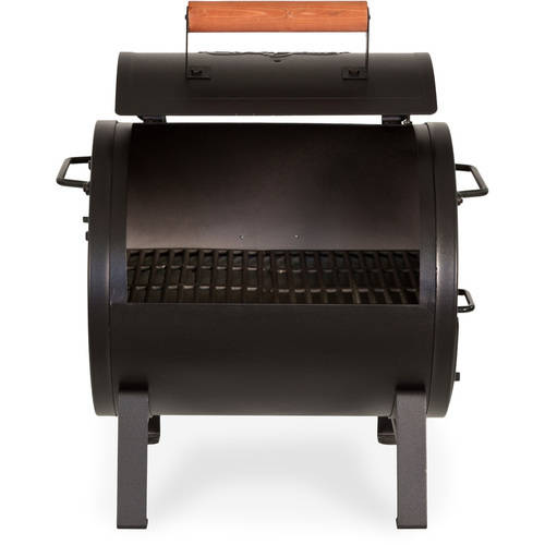 Char Griller 250 Sq Inch Table Top Charcoal Grill And Smoker, Black Image 3
