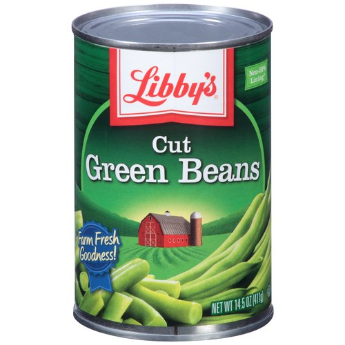 LIBBY'S GREEN BEANS CUT