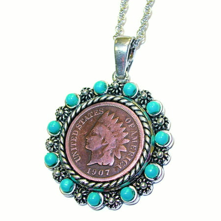 Indian Head Penny Real Beads
