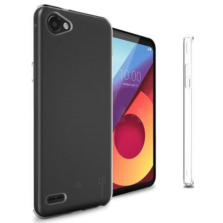 check out 028f0 79247 CoverON LG Q6 / Q6 Plus / Q6a Case, FlexGuard Series Soft Flexible Slim Fit  TPU Phone Cover