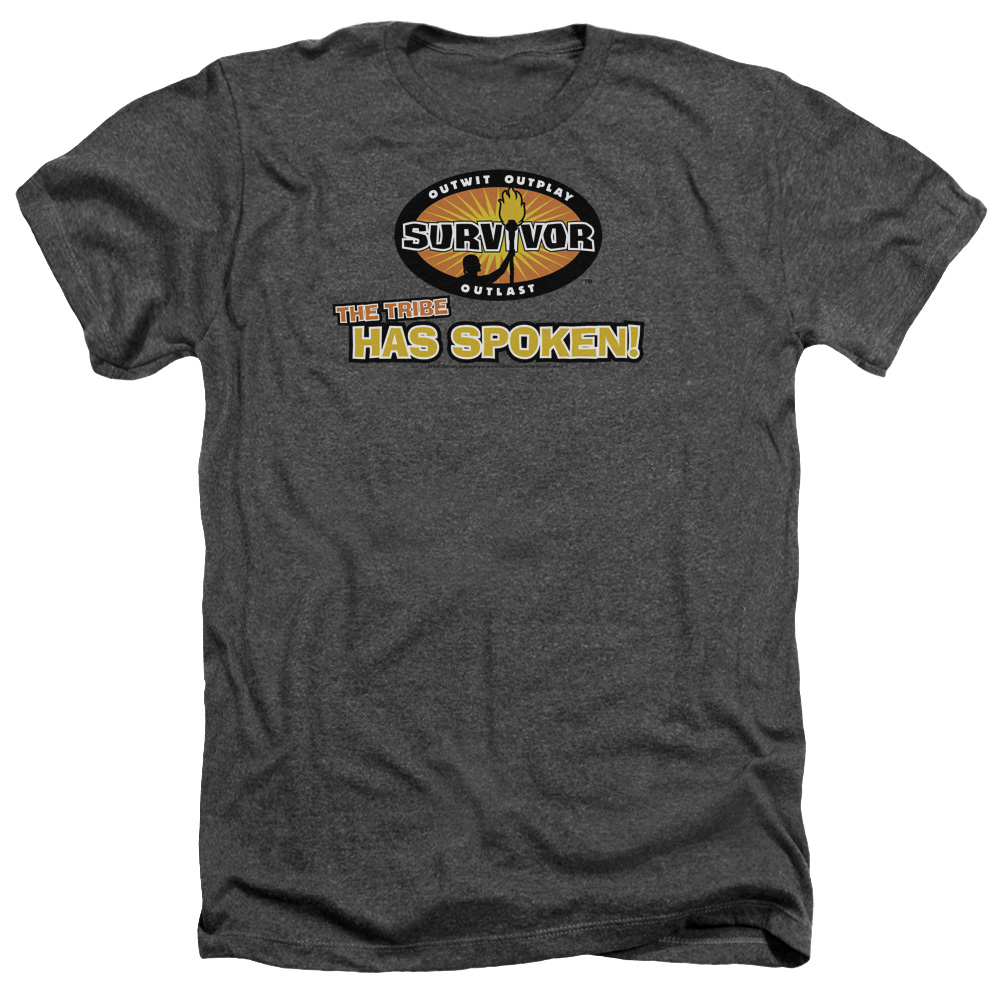 Survivor Tribe Has Spoken Mens Heather Shirt