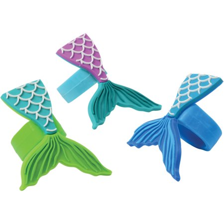 US Toy Mermaid Tail Rubber Rings 1.5