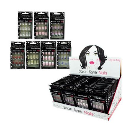French Artificial Nail (French Tip Artificial Nails Display)