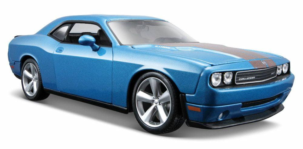2008 Dodge Challenger SRT8 Hard Top w  Sunroof, Blue Maisto 31280BU 1 24 Scale Diecast... by Maisto