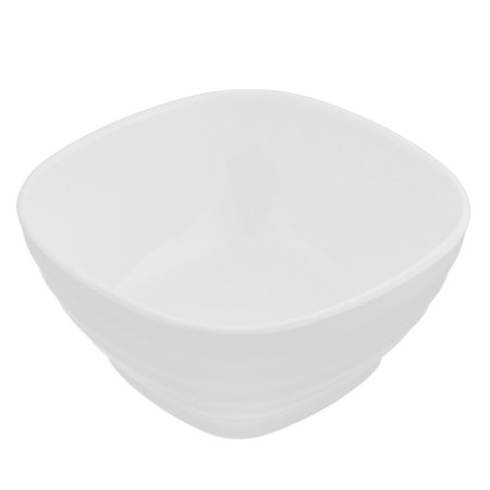Unique Bargains Plastic Square Shaped Tableware Cereal Fruits Salad Dinner Bowl