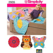 Simplicity Pattern Rag Quilts, One Size