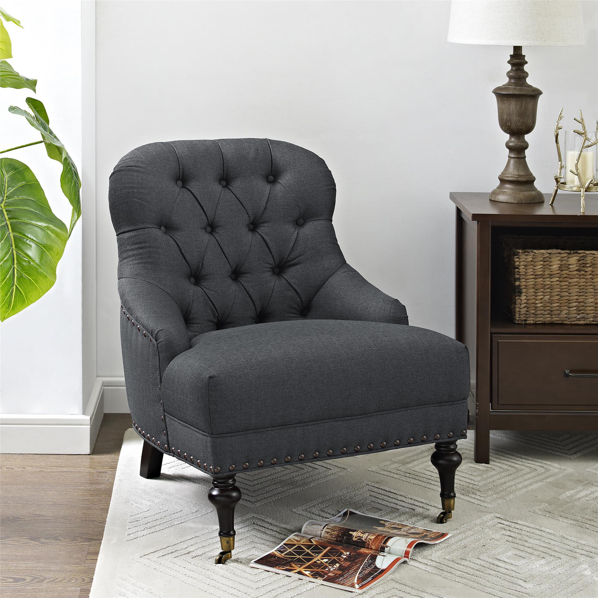 Accent Chair With Lots Of Color: Better Homes & Gardens Tufted Accent Chair, Multiple