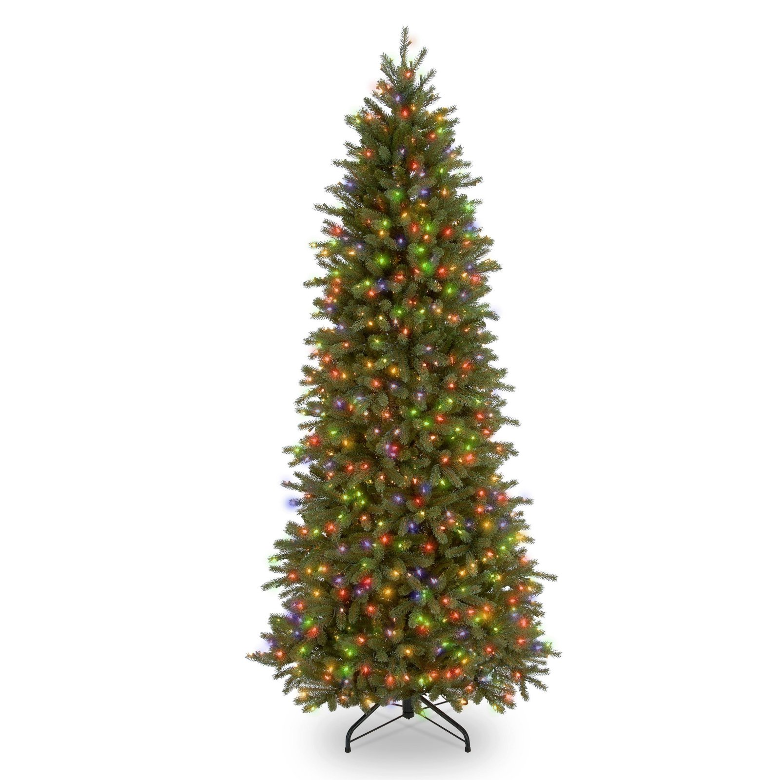 6.5 ft. Downswept Douglas Slim Fir Tree with Clear Lights