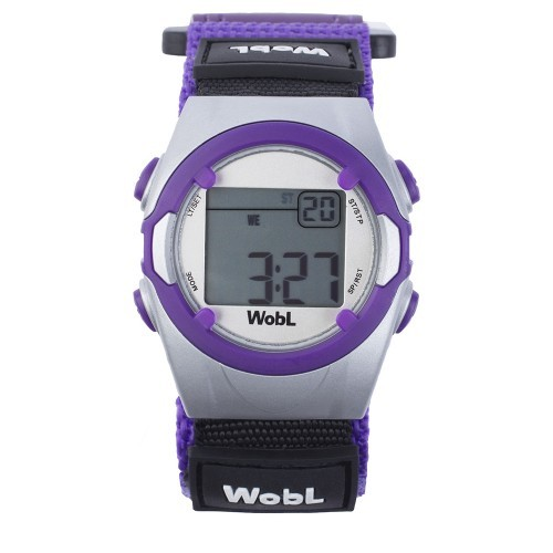 WobL Purple Vibrating Watch by KnoxWatches
