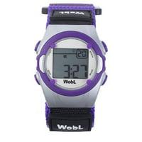 WobL Purple Vibrating Watch