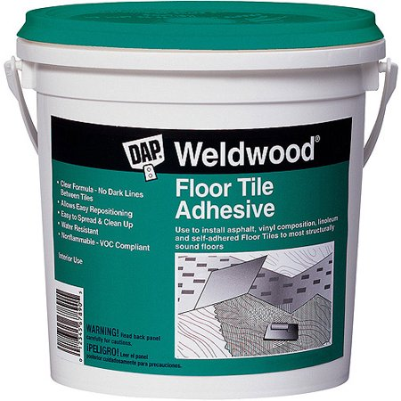 Cement Floors - Dap 00136 1-Quart Weldwood Floor Tile Cement