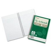 "Skilcraft Spiral Notebook, College-Ruled, 5""x7-1/2"", 80 Shts, 6/PK, WE 6002013"