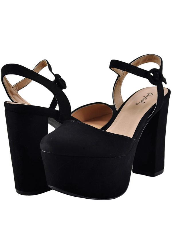 Qupid Nala 01 Women's Shoes Closed Toe