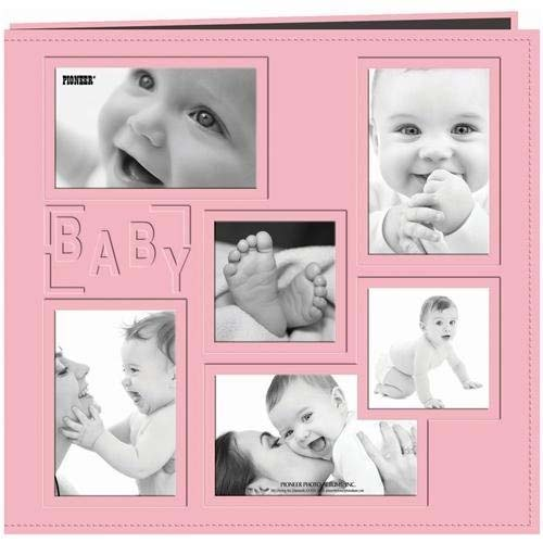 Pioneer Baby Collage Frame Large Photo Album (Pink)
