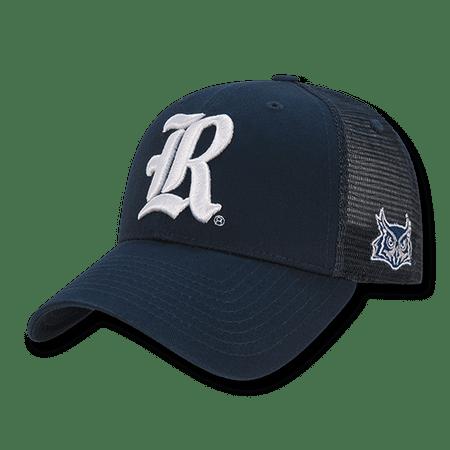 NCAA Rice University Cotton Structured Trucker Caps Hats Navy White (Rice Hats)
