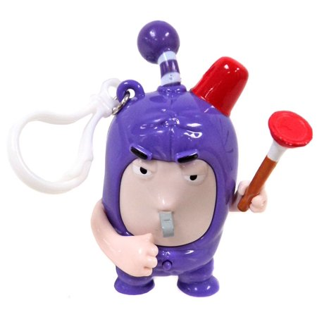 Oddbods Jeff Backpack Clip [with Sound]