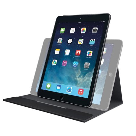 Logitech 939-000838 Turnaround Carrying Case for iPad Air - Intense Black (Ipad Air 2 Logitech Type+)