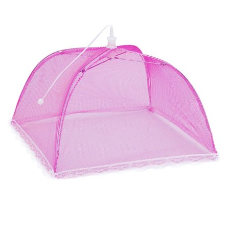iLH Mallroom 2 Large Pop-Up Mesh Screen Protect Food Cover Tent Dome Net Umbrella Picnic ()