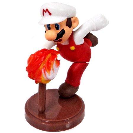 Mario Bros Characters (Super Mario Bros Fire Mario PVC)