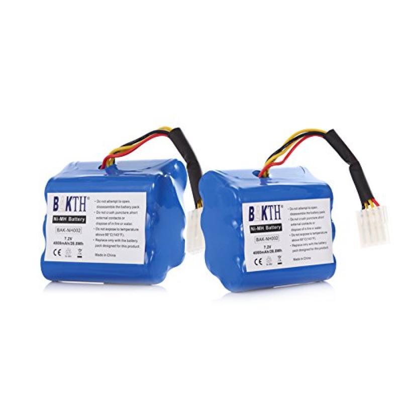 BAKTH 2 Pack 4000mAh 7.2V NiMH Replacement Battery For Ne...