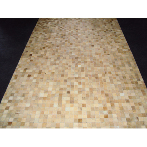 Modern Rugs Patchwork Static II Neutral Area Rug