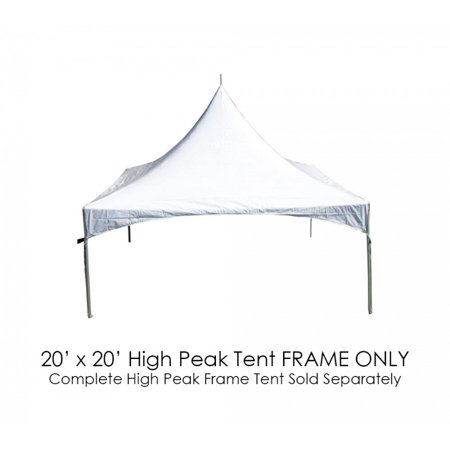 Party Tents Direct High Peak Canopy Event Tent Frame ONLY, 20\' x 20 ...