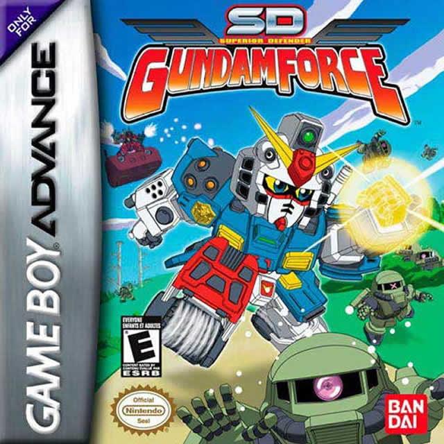 SD Gundam Force GBA by Bandai Co. Ltd