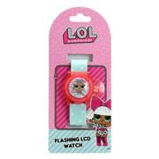 LOL Surprise 2336896 Flashing Digital Watch, Blue - Case of 72