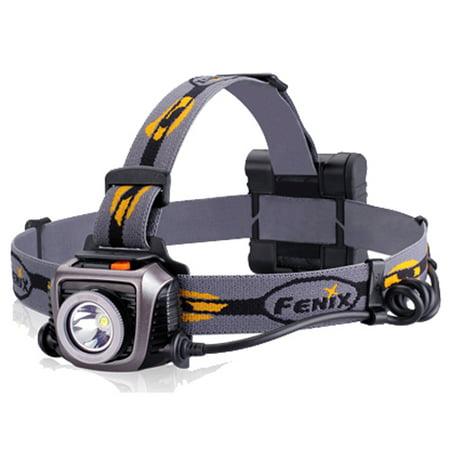 Fenix Flashlights 900 Lumens Fenix HP Series, Gray SKU: FX-HP15UEGR with Elite Tactical Cloth