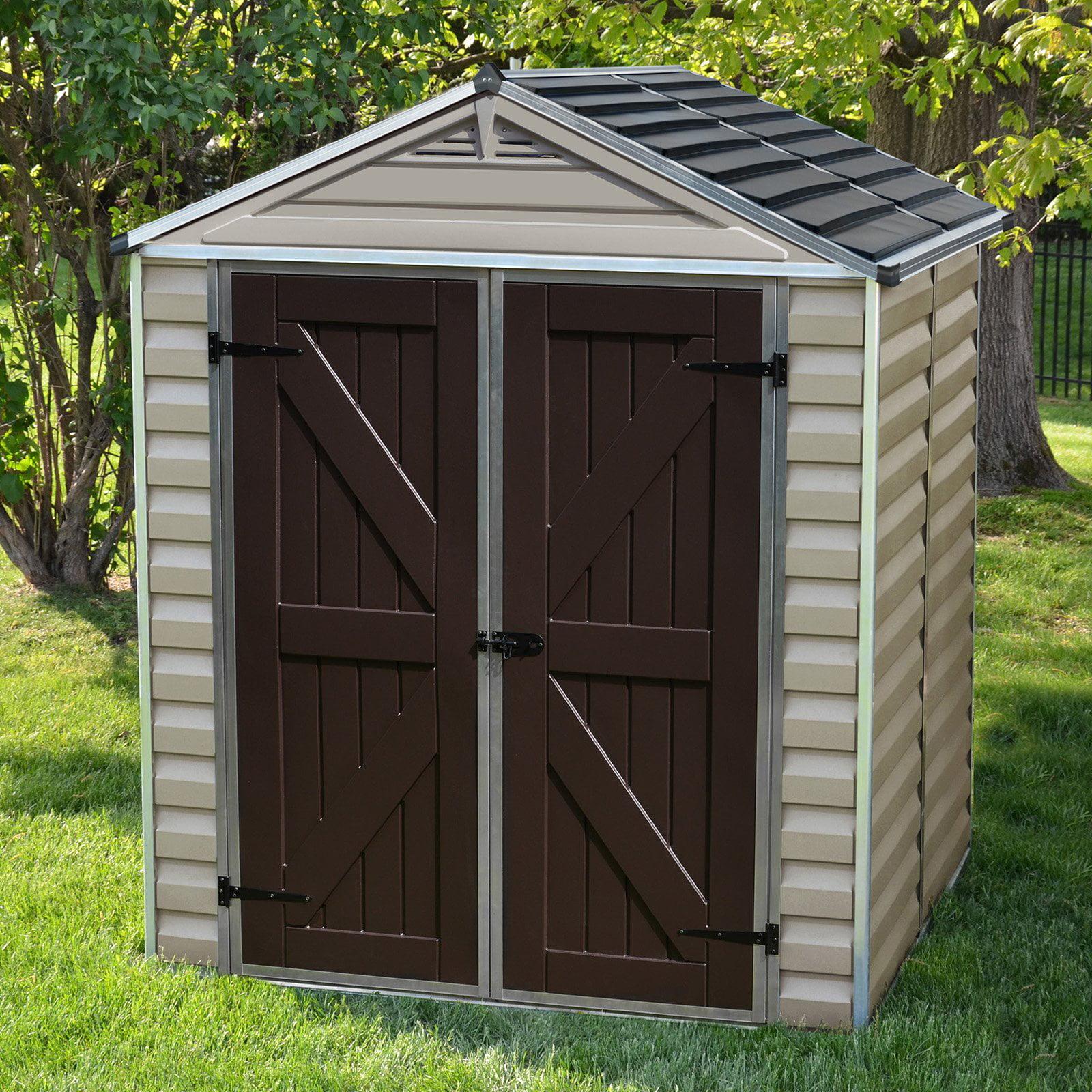 skylight shed kit 6 x 10 tan walmartcom