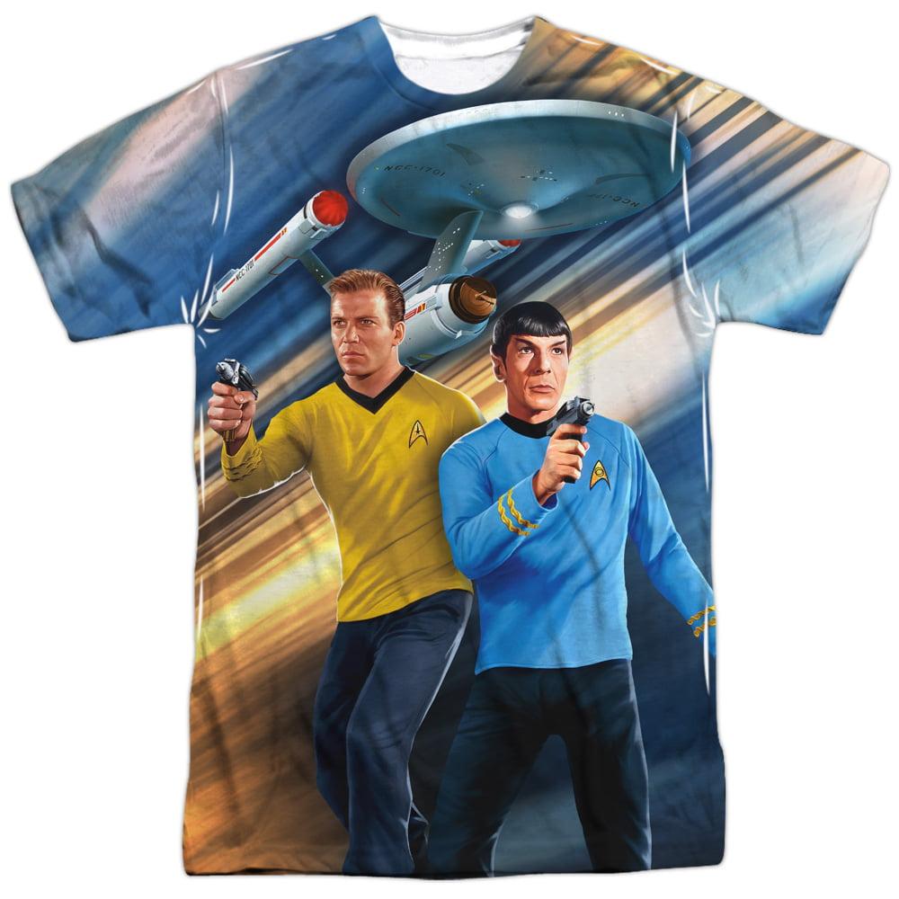 Trevco Star Trek Sci-Fi Action TV Series Crew on Alert Ad...