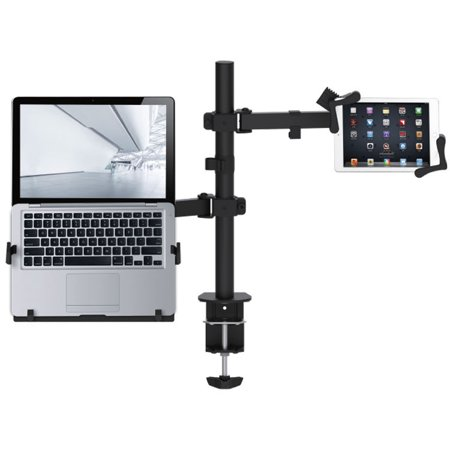 CTA Digital Articulating Height-Adjustable Laptop and Tablet Arm